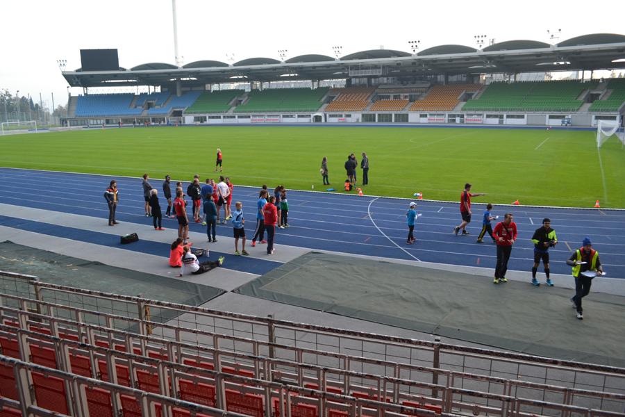 TriRun Training Linzer Stadion