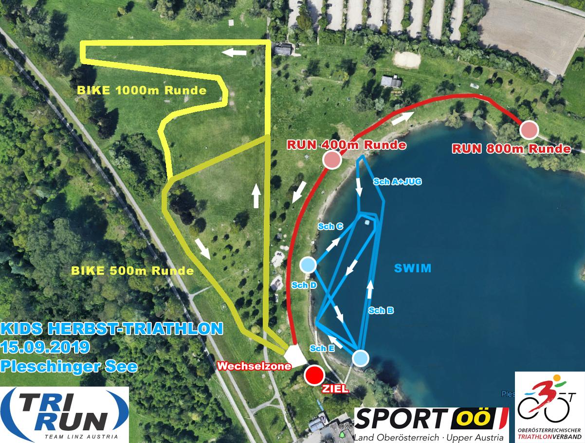 Kids-Triathlon-Strecke